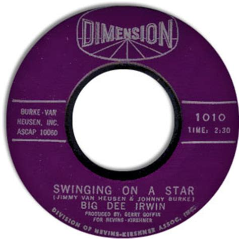 little eva swinging on a star classic rockin rnb 45 big dee irwin swinging on a