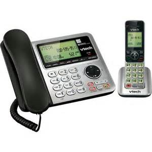 home phone walmart vtech corded cordless phone system walmart