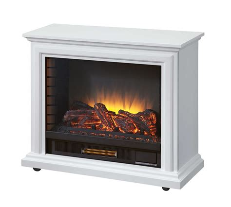 Mobile Fireplaces by Pleasant Hearth Mobile Fireplace White The