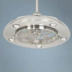 Kitchen Fans With Lights Possini Segue Brushed Nickel Finish 5 Light Ceiling Fan