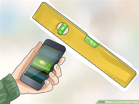 how to level a pool table 14 steps with pictures wikihow