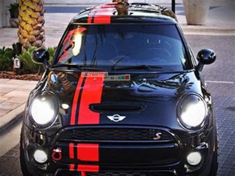 Front to Back Stripe Kit Decal Sticker Graphic Compatible