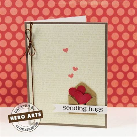 send a valentines card sending hugs envelopes and cards on