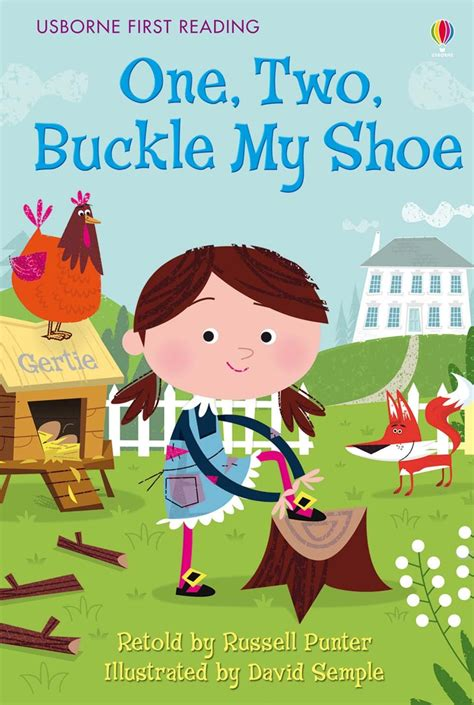libro one two buckle my one two buckle my shoe at usborne books at home