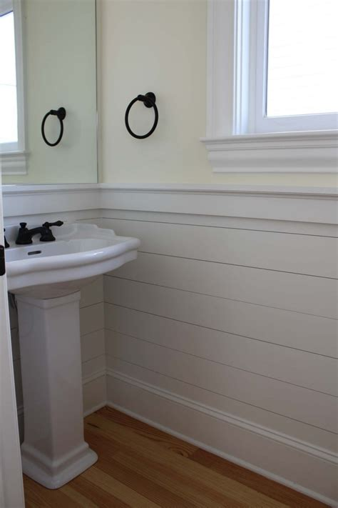 bathroom with wainscoting cool white bathroom vinyl