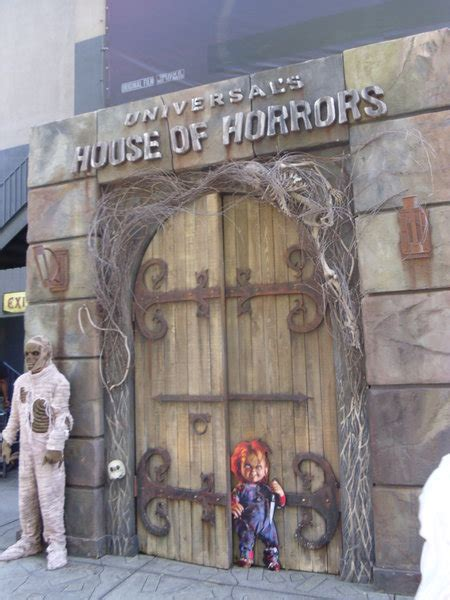 universal studios house  horrors photo
