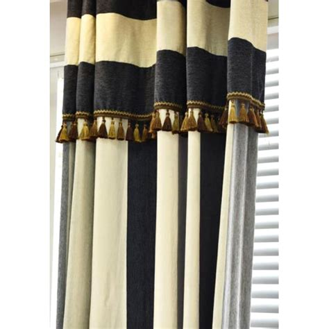 Navy Thermal Curtains Navy White And Gray Vertical Striped Contemporary Thermal Curtains
