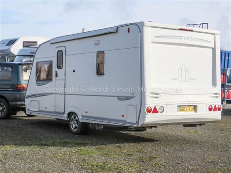 Caravanstore Awning Sold Abbey Gts Vogue 415 4 Berth Fixed French Bed 4