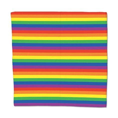Bandana Rainbow by Rainbow Bandana Partycheap