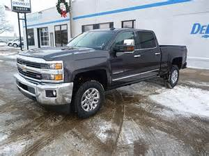 Chevrolet Silverado 2500hd Diesel For Sale 2016 Chevrolet Silverado 2500hd Ltz Bose Duramax Turbo