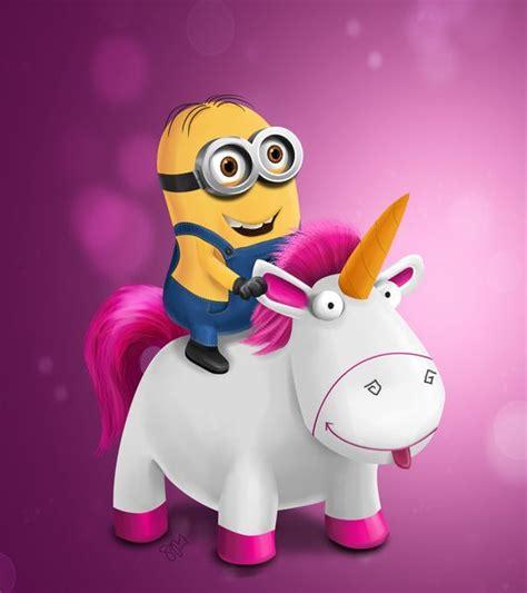 wallpaper minion pink riding my pink unicorn into 2015 minions pink unicon