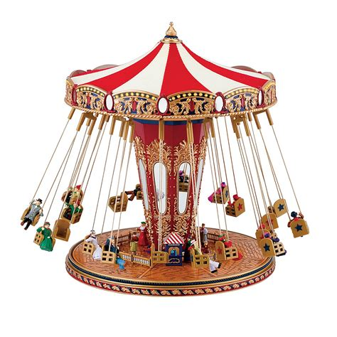 mr christmas quot world s fair swing carousel quot musical