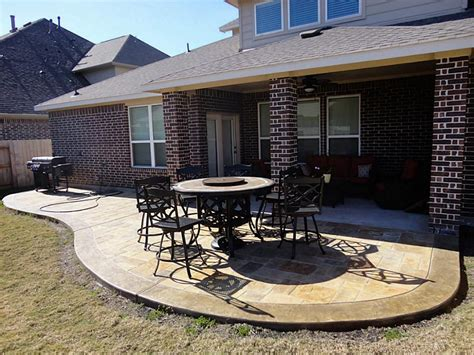 extend concrete patio home ideas