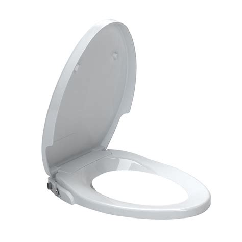 Non Electric Bidet Toilet Seat Reviews american standard aquawash non electric bidet seat for elongated toilets in white 5900a05g 020