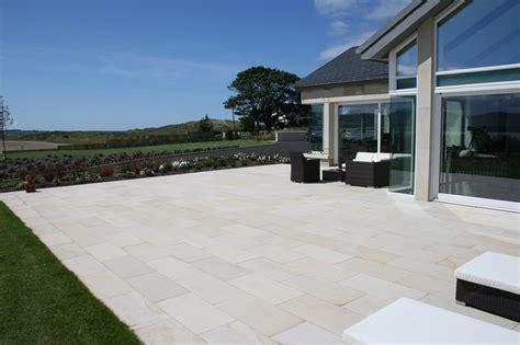 wonderful Small Backyard Patio Ideas #2: sandstone-patio-mcmonagle-stone_9503.jpg