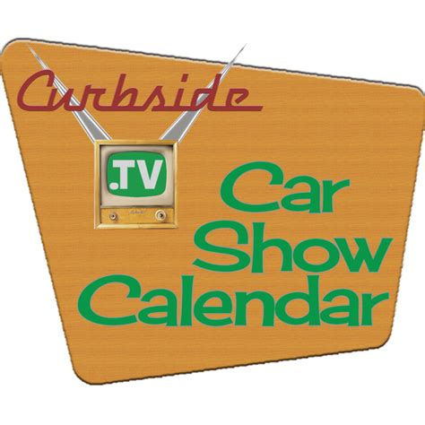 Car Show Calendar The 1957 Chevrolet Curbside Car Show Calendar
