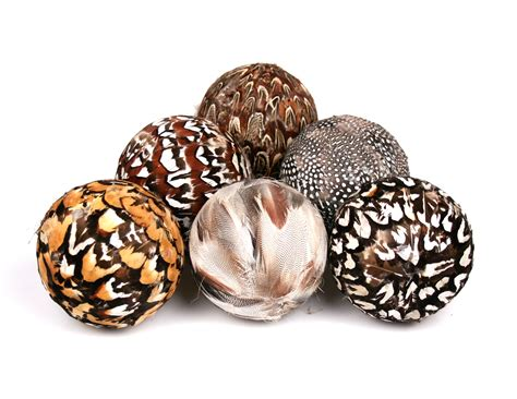 home decor balls new home d 233 cor feather balls from jodhpuri inc