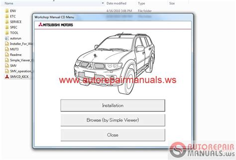 online service manuals 2011 mitsubishi lancer evolution parking system mitsubishi pajero sport 2011 service manual auto repair manual forum heavy equipment forums