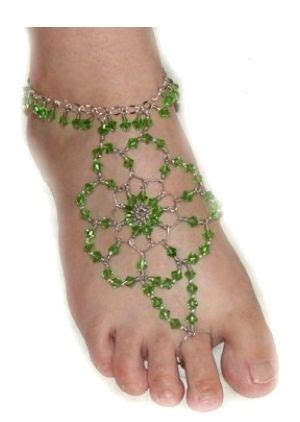 how to make foot jewelry how to make indian style beaded foot jewelry tutorials