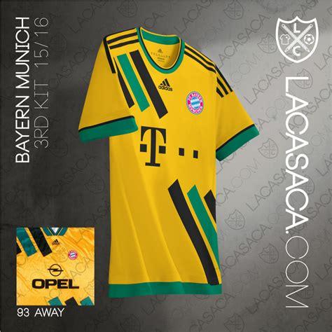 Jersey Bayern Munchen 3rd Kits Adidas Original most horrific kits transformed into masterpieces