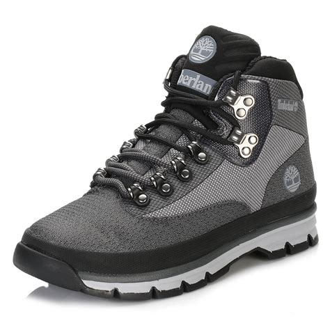 light grey mens shoes timberland mens light grey hiker jacquard ankle boots lace