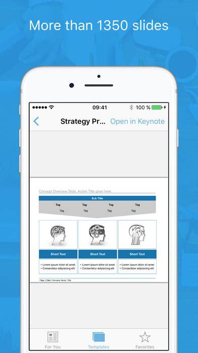 App Design Vorlagen vorlagen f 252 r keynote professionell made for use app