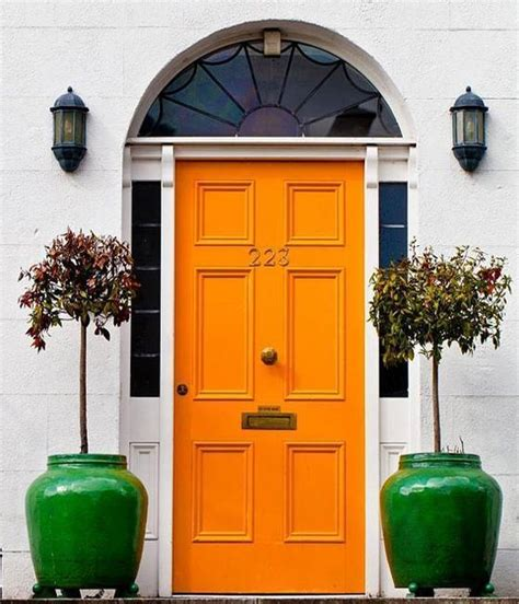 colored doors 30 front door ideas and paint colors for exterior wood