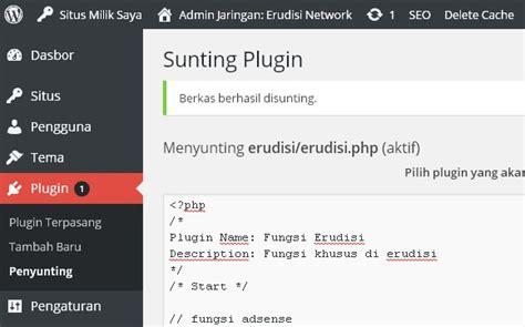 membuat widget wordpress sendiri membuat plugin fungsi khusus untuk blog sendiri