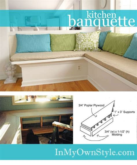 kitchen banquette plans best 25 banquette bench ideas on pinterest kitchen