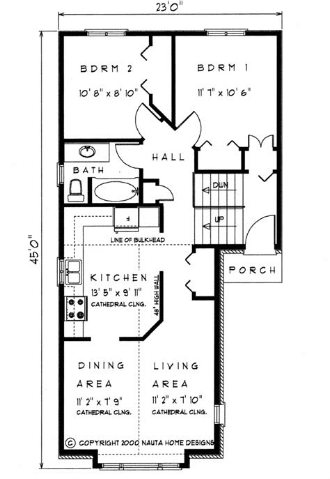 raised bungalow floor plans 2 bedroom raised bungalow house plan rb105 810 sq feet