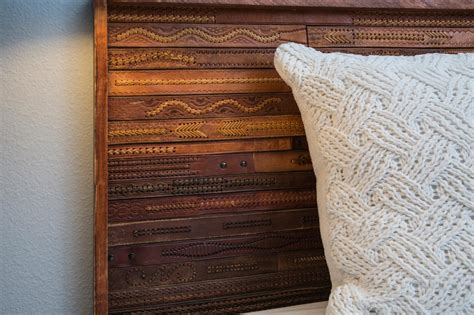 how to make leather headboard how to make a headboard from upcycled leather belts how