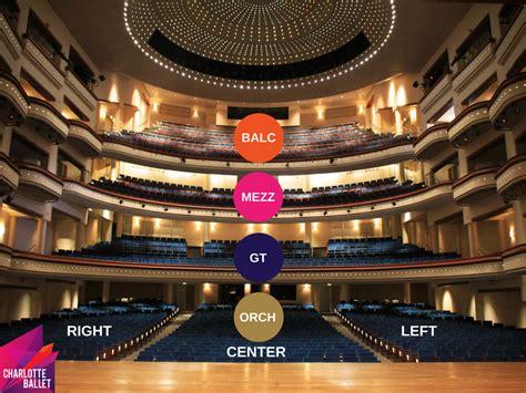 belk theatre seating plan the belk theater seating and parking ballet