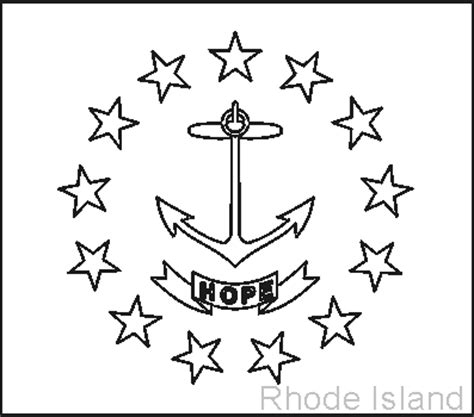 coloring pages of rhode island rhode island state flag coloring page coloring page