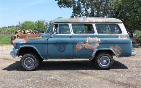 Barn Auto Parts Napco 4x4 1955 Gmc Suburban