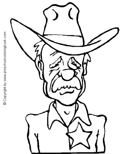western coloring pages for preschool www preschoolcoloringbook com western coloring page
