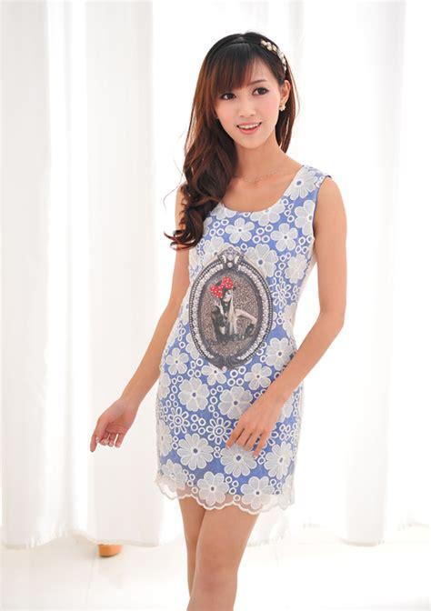 Dress Korea Anablue A 1631 เส อผ าคนอ วนเกาหล พฤษภาคม 2013