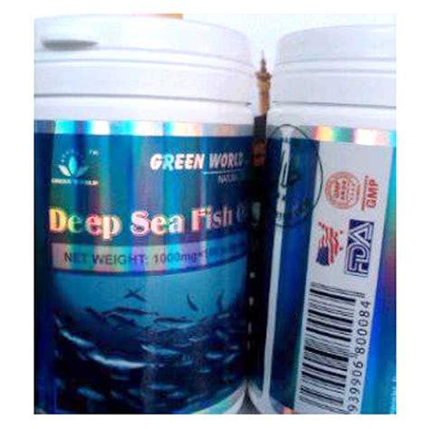 Minyak Ikan Salmon Nutrimax sea fish softgel menggunakan ikan salmon dari