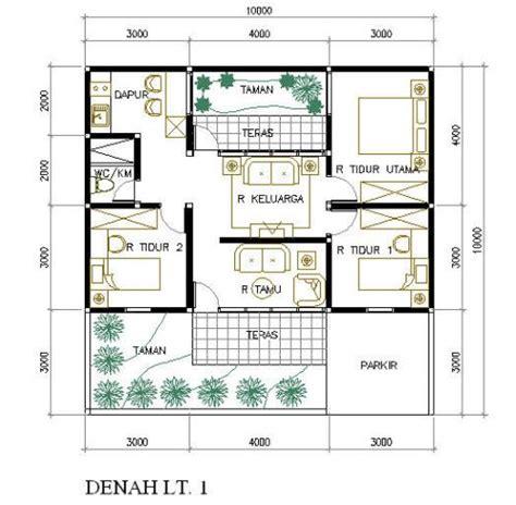 simple house floor plan 3 bedrooms 1