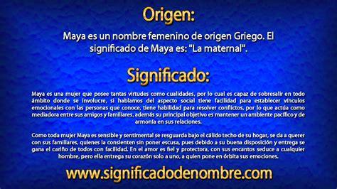 conoce el origen de los 6 nombres de mandela national geographic en espa 241 ol significado de maya 191 qu 233 significa maya youtube