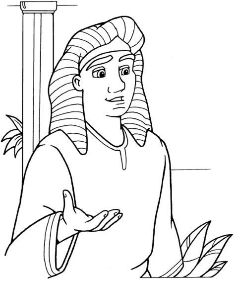 coloring sheets for joseph free coloring pages of joseph interprets