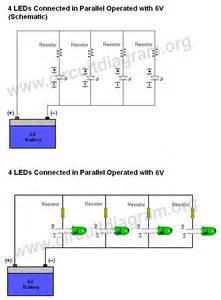how to connect wire leds circuit diagram