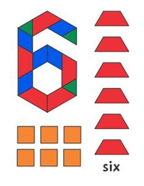 numbers with pattern blocks 31 best images about blocos on pinterest alphabet cubes