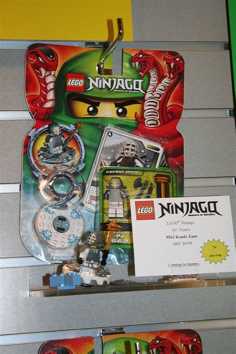 Lego Kendo Zanes Spinner fair 2012 coverage lego ninjago parry preserve
