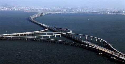 qingdao bridge world s longest sea bridge in china the qingdao haiwan