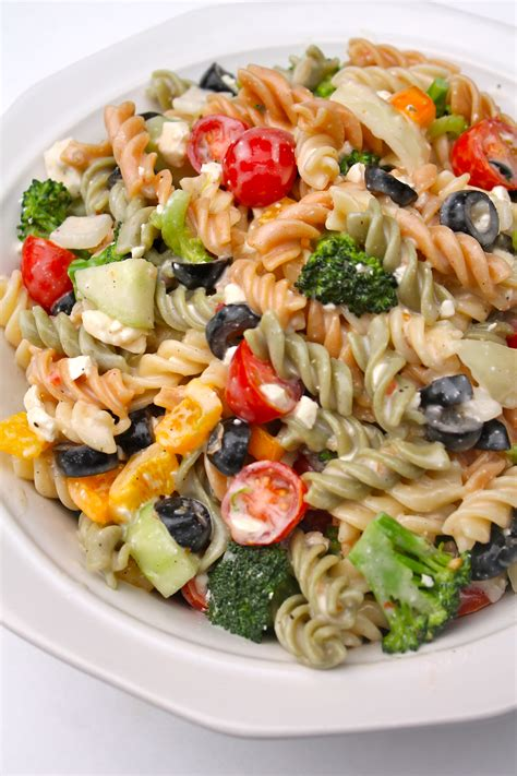 best pasta salad recipes the best creamy italian pasta salad i heart recipes