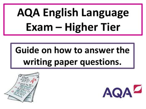 aqa english lang lit revision checklist by uk teaching resources tes gcse english section b writing by johncallaghan uk teaching resources tes