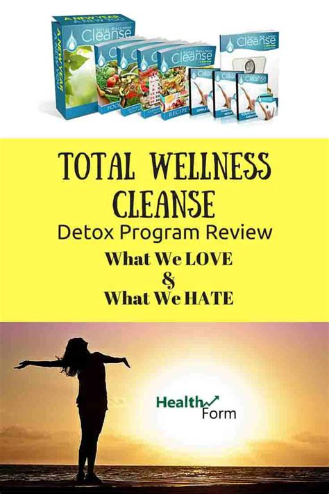 Cleanse Detox Program Review by Total Wellness Cleanse By Yuri Elkaim A Detox Program Review