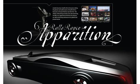 rolls royce apparition rolls royce apparition on behance