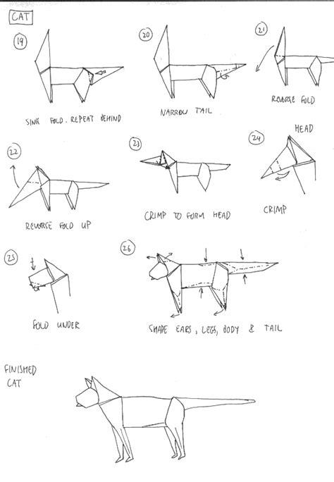 Modèle D Origami