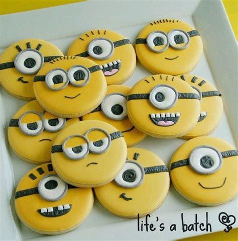 minion cookies minion cookies pinteres